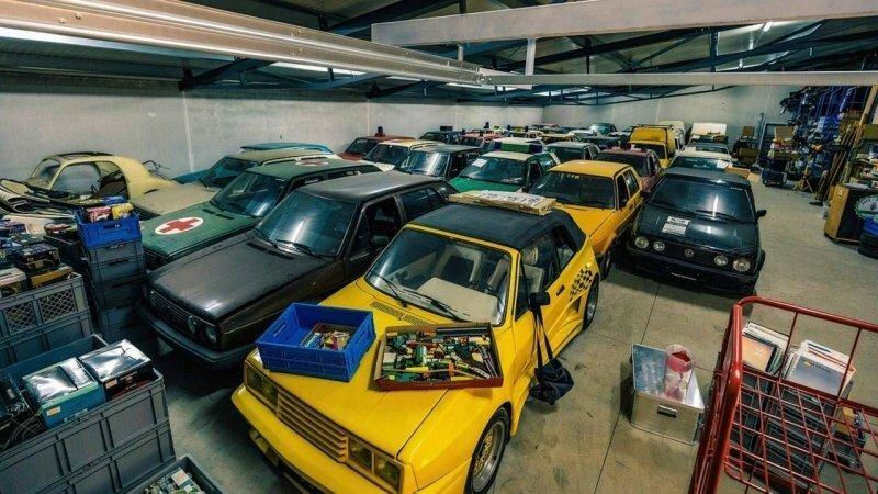 Самая большая частная коллекция Volkswagen Golf в мире