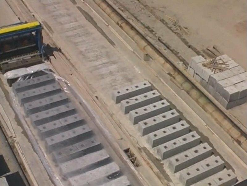 Пример рационального производства бетонных блоков
