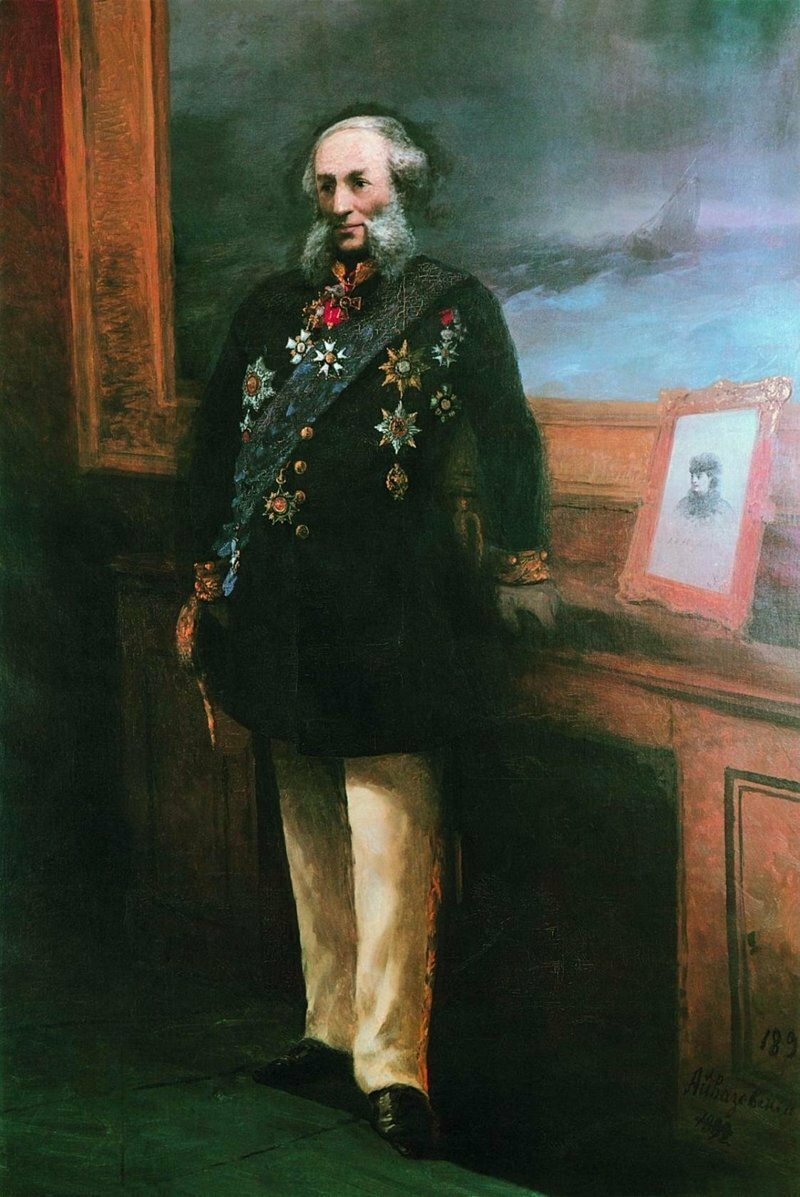 Почему две картины Айвазовского по сей день запрещено показывать в России