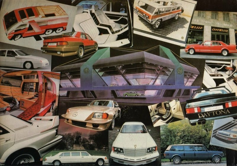 Самые необычные и уродливые доработки автомобилей Mercedes-Benz от английского ателье Chameleon