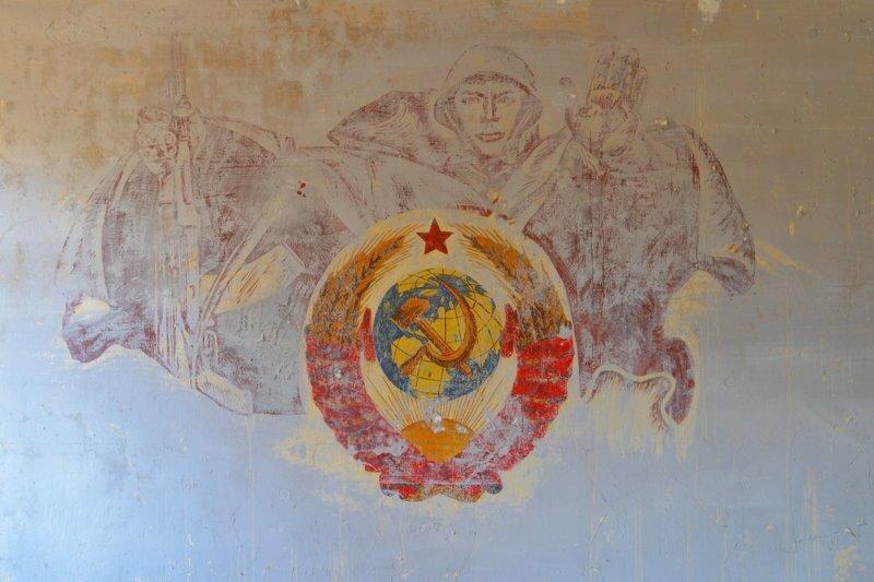 Останки более развитой цивилизации: элементы оформления заброшенных военных объектов СССР в Германии