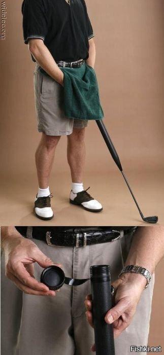 Почему престарелые джентльмены выбирают гольф