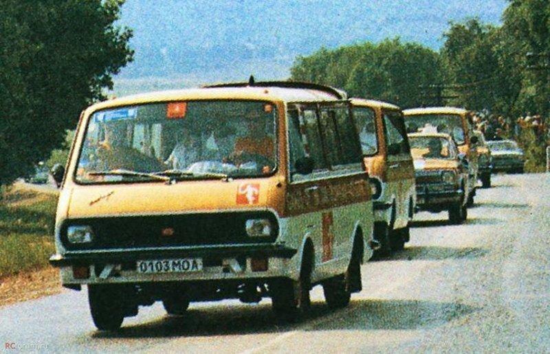 Автомобили, которые сопровождали «Олимпиаду-80»: РАФы и не только