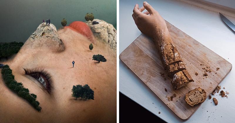 Сюрреалистические фотоманипуляции, стирающие грань между реальностью и вымыслом