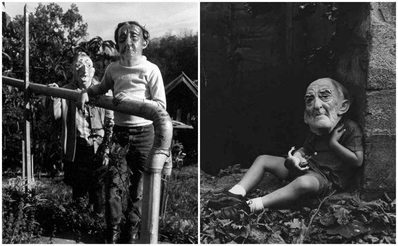 Куклы и маски: жутковатые фото из семейного альбома Ральфа Юджина Митъярда
