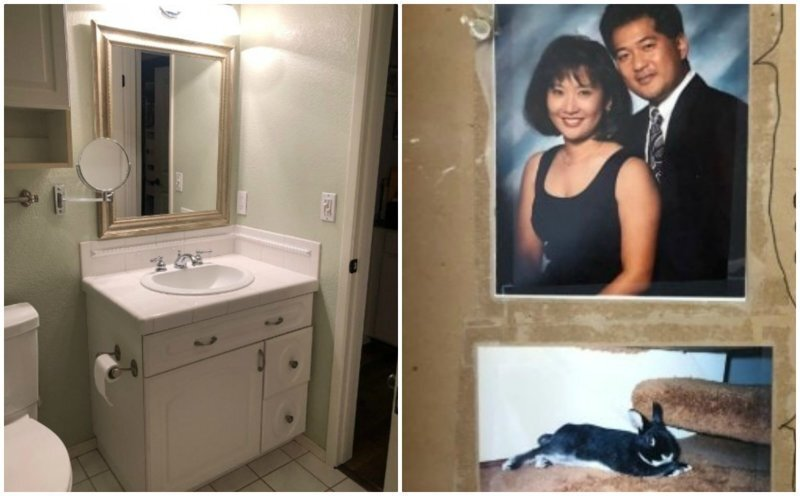 Пара затеяла ремонт в ванной, и нашла забавное послание от предыдущих хозяев