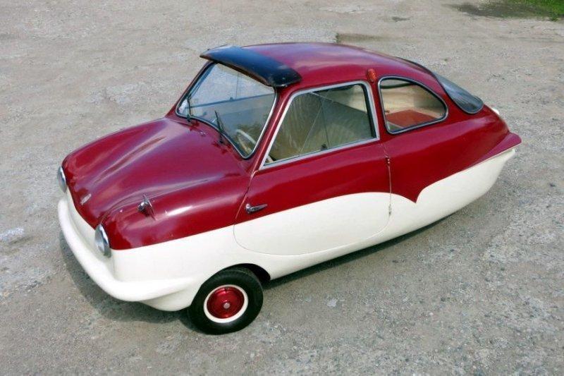 Микроавтомобиль на трех колесах: 60-летний Fuldamobil из Беларуси