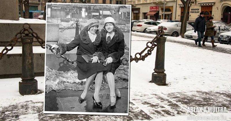 Путешествие во времени: фотограф соединяет в снимках прошлое и настоящее