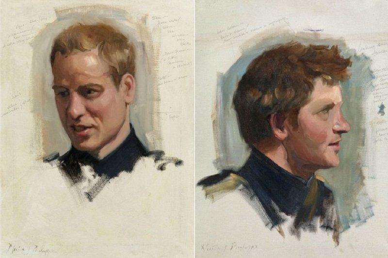 Портреты королевской семьи