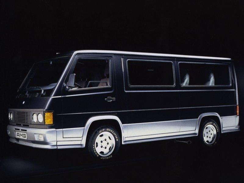 Mercedes-Benz MB 100 D 1988 - самый странный продукт AMG