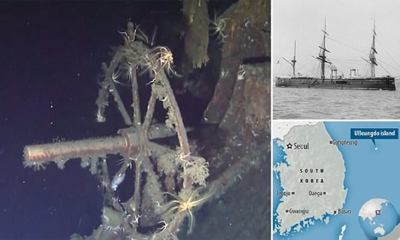 Дайверы нашли русское судно со $133 миллиардами золота на борту