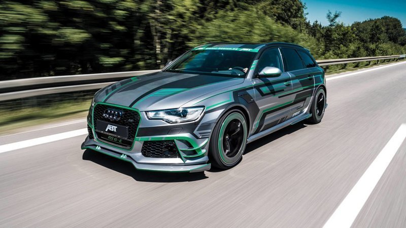 В компании ABT создали гибридный 1000-сильный Audi RS6-E