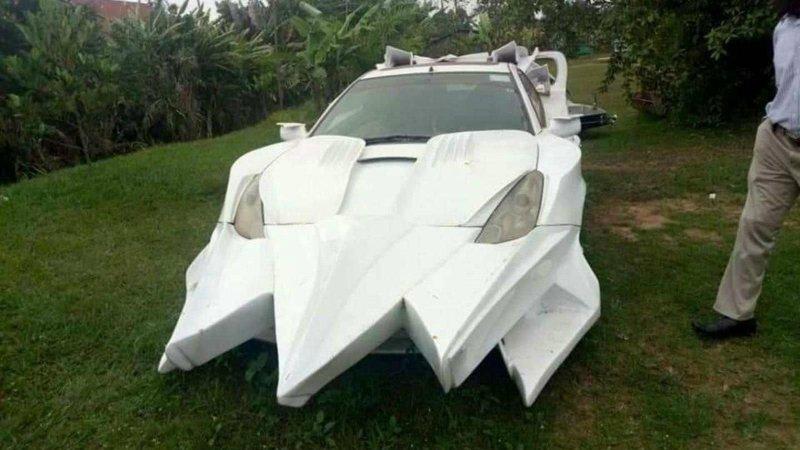 Африканский тюнинг: монстр из Toyota Celica