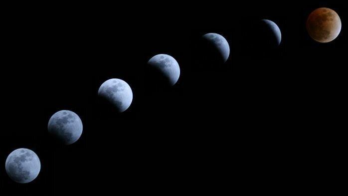 27 июля состоится самое долгое полное лунное затмение за 100 лет