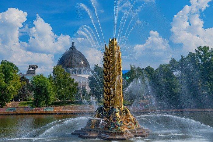 Реставрация знаменитого фонтана «Золотой колос» и применение технологии с двухтысячелетней историей