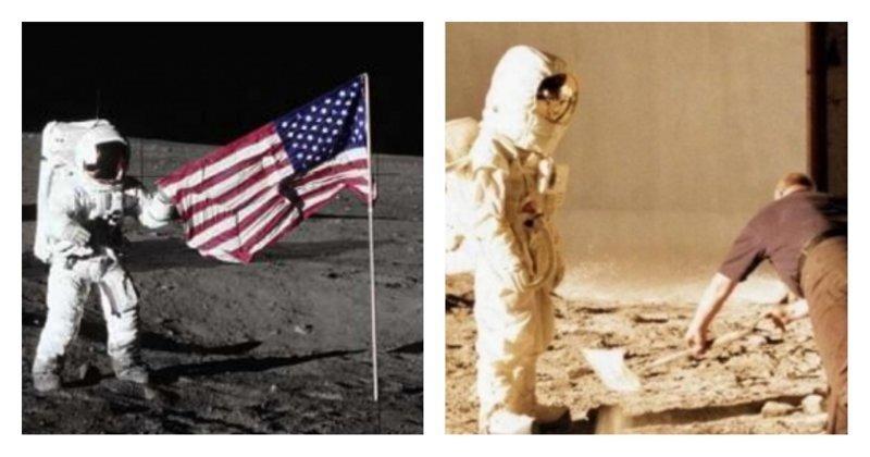 Более половины россиян считают высадку американцев на Луну фейком