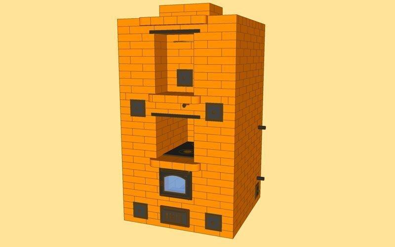 Строю сам: Печь. Фундамент. Часть 2