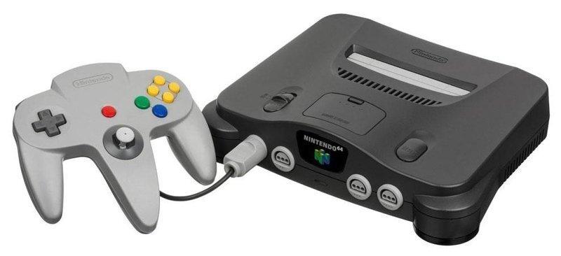 Ностальгия, которой не было-Nintendo 64