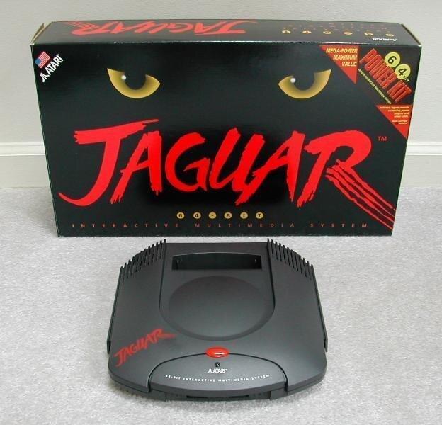 Atari Jaguar-первая 64-битная игровая система