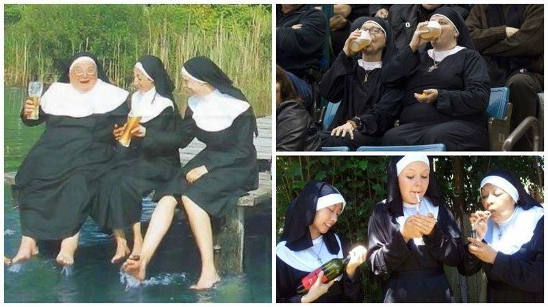 Эти фотографии доказывают, что жизнь за стенами монастыря не заканчивается