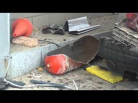 На АЗС в Крыму взорвалась машина с ГБО (баллоны с газом)