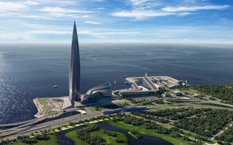 В Санкт-Петербурге завершается строительство самого высокого здания в Европе