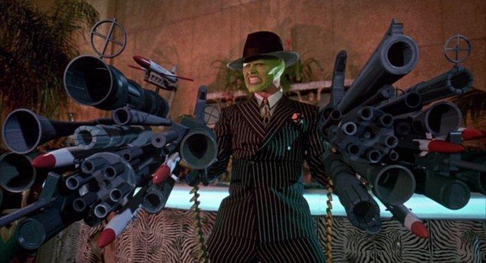 Огнестрельное оружие из некоторых голливудских фильмов