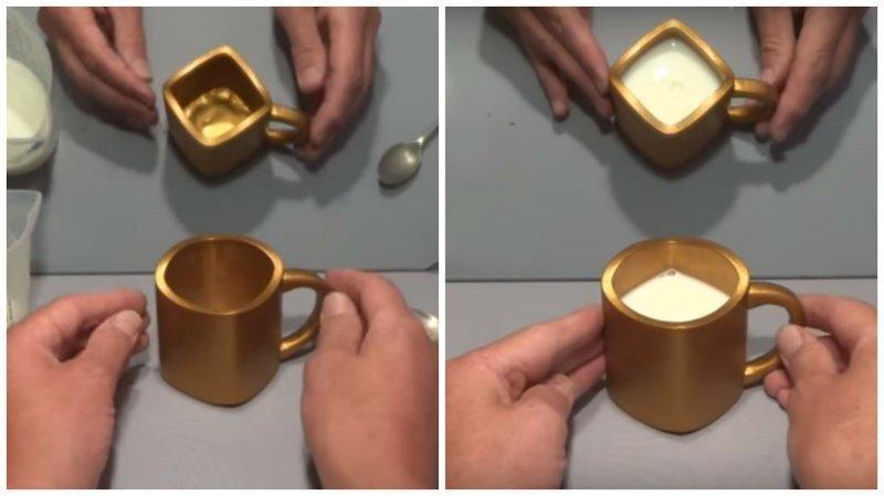 Сможете ли вы точно сказать, какой формы эта кружка?