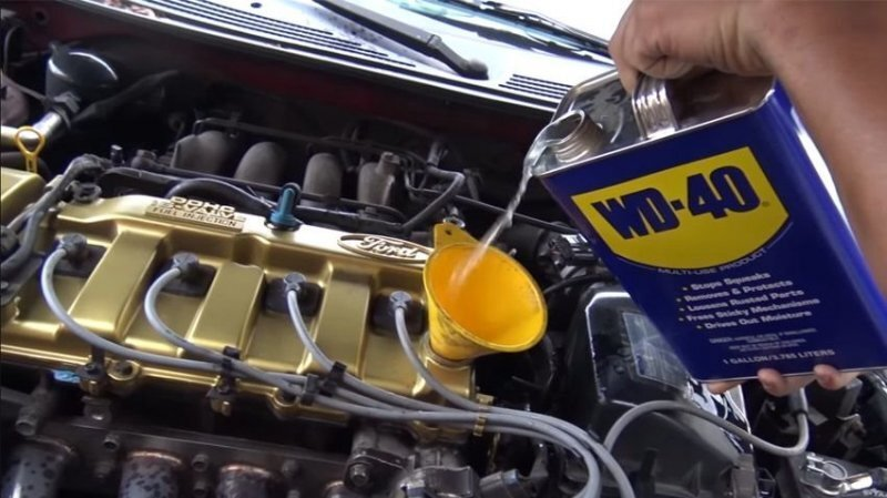 WD-40 вместо моторного масла! Как долго проживет двигатель?