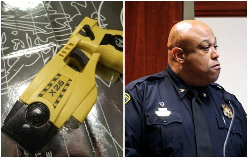 Американский полицейский ударил 11-летнюю девочку электрошокером