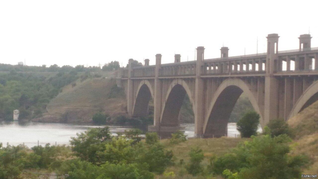 Мост Преображенского, Запорожье