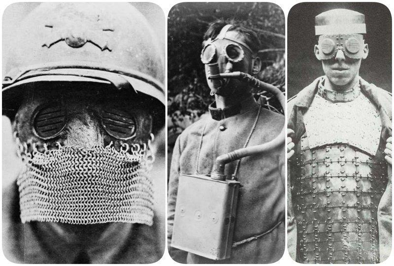 Жуткая амуниция: средства защиты времен Первой мировой войны, от вида которых мурашки по коже