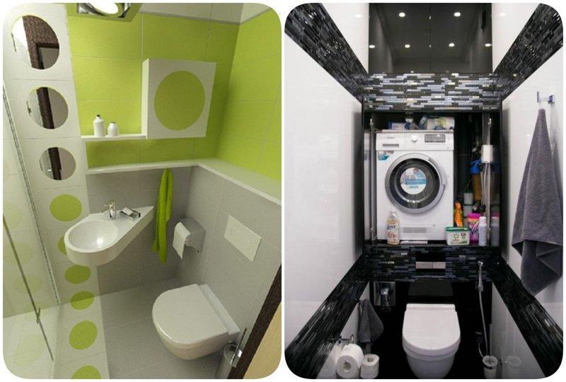 15 интересных решений для 2 м², которые помогут грамотно обустроить крошечный туалет