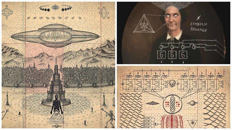 Слияние искусства, науки и мистики в работах Даниэля Мартина Диаса