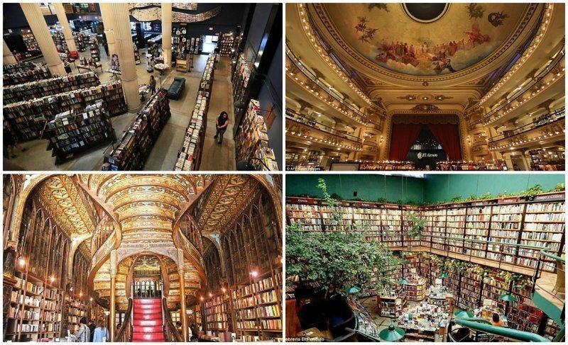 16 красивейших книжных магазинов планеты, в которых хочется потеряться