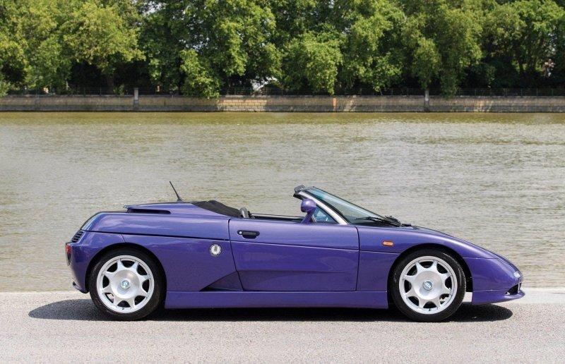 De Tomaso Guara Spyder 1997-1999 – Фиолетовая редкость