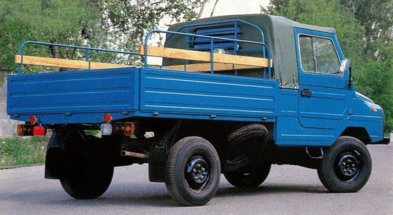 В лёгком весе. Грузовой автомобиль ЛуАЗ-13021