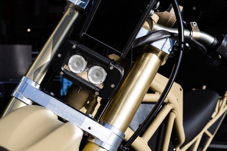 Передовые разработки «Калашникова»: электромотоцикл SM-1 для силовых структур