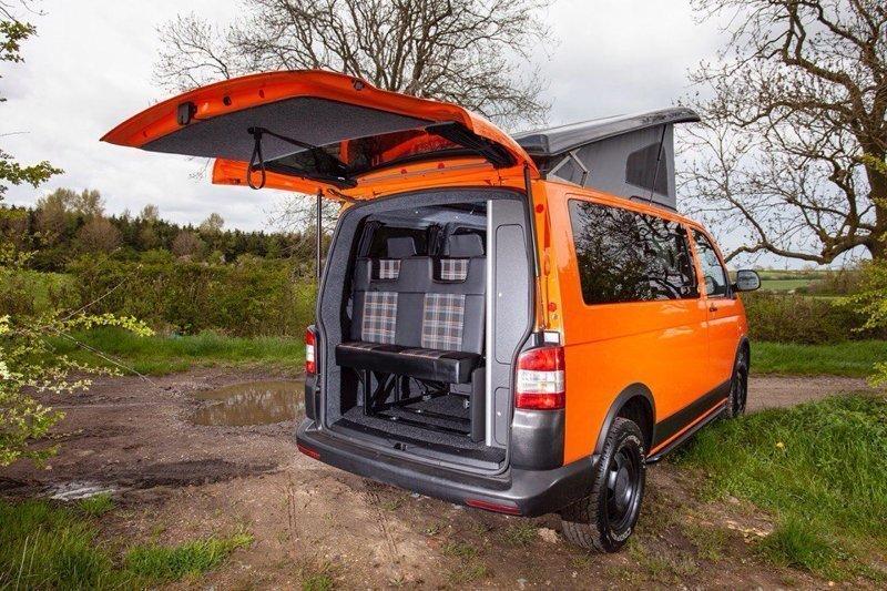 Тюнинг Volkswagen Transporter T5 Off-Road кемпер