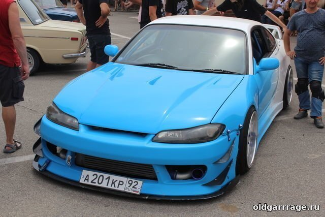 Выставка автомобилей на Crimean Drift Series (CDS) 2018