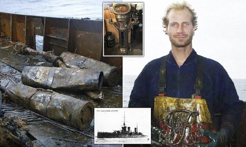 Мародеры грабят подводные братские могилы британских моряков