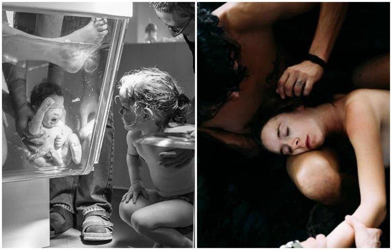 Роды, как они есть: 15 захватывающих фотографий рождения новой жизни