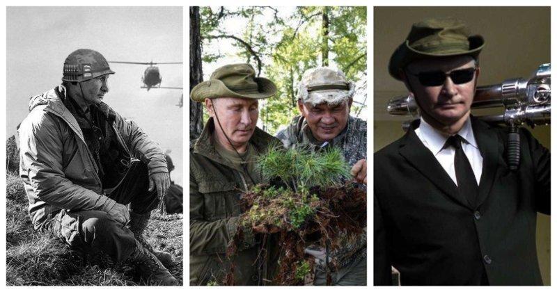 Путин в сказочном лесу: реакция соцсетей