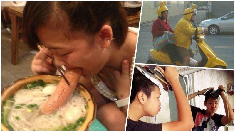 25 идиотских фотографий, которые могли быть сделаны только в Азии