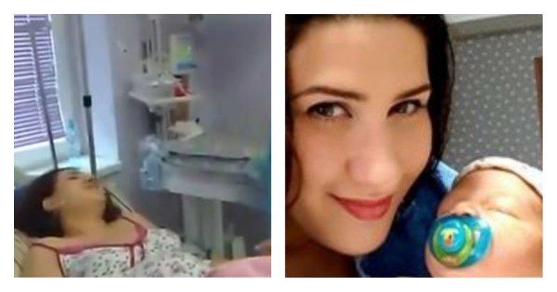 Запела и родила: грузинка отвлекается от схваток, исполняя «O sole mio»