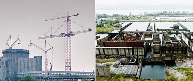 «Атомные призраки»: Крымская АЭС (Щелкино, Крым)