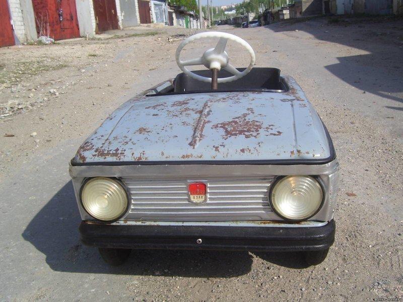 Педальное счастье или роскошь для малышей СССР