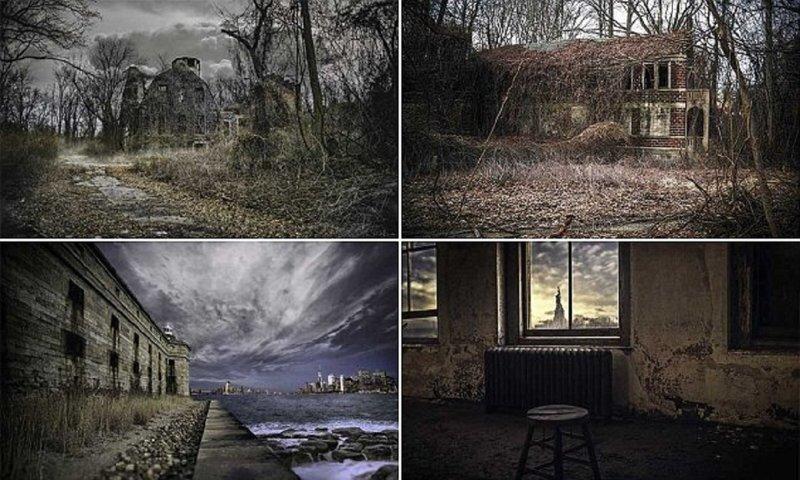 Фотограф раскрывает темную сторону Нью-Йорка