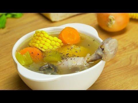 Куриный суп по-бомбейски за 30 минут. Индийская кухня