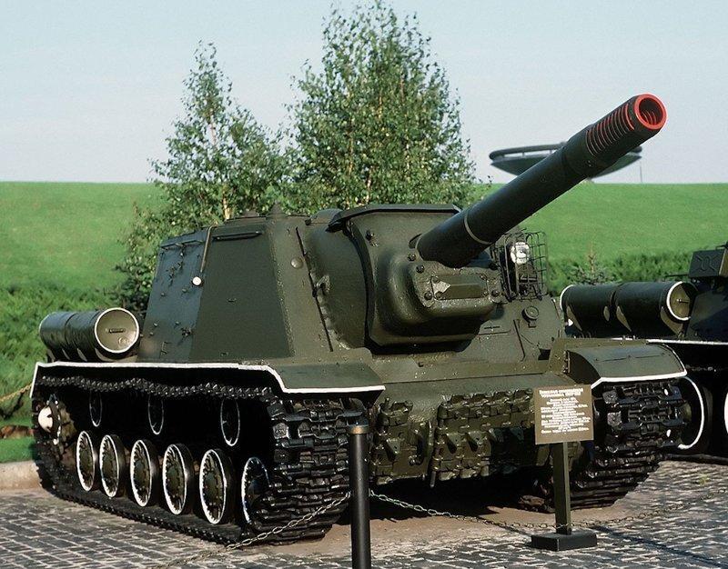 Советская тяжелая самоходно-артиллерийская установка ИСУ-152